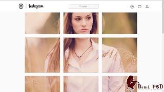 Adobe Photoshop CC kullanarak Çoklu Görüntü İnstagram Kolaj Oluşturma - Öğretici