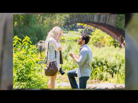 Kristin & Jeremys Surprise Proposal in Central Park