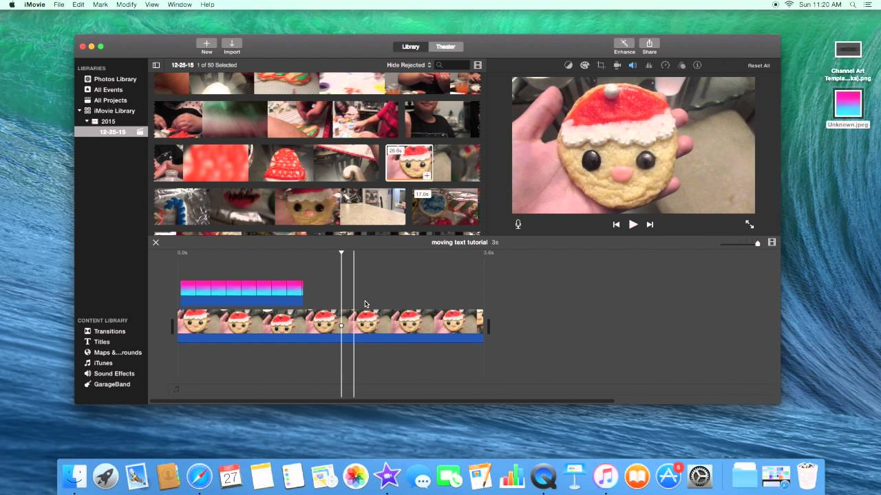 how to put a filter on a video in imovie