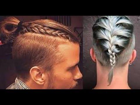 man braid tutorial & men's hair