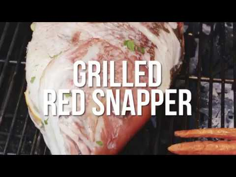 Fogo Recipes - Red Snapper On Your Grill, Zesty And Delicious! - Episode 34
