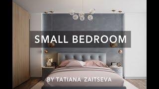 видео Ремонт маленькой спальни с фото