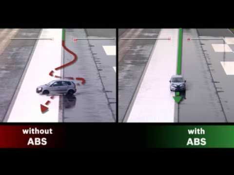 Safe braking with ABS by Bosch