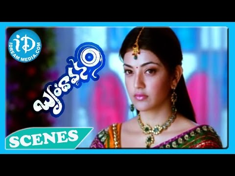 Brindavanam Movie - Kajal Agarwal, Jr N T R Emotional Scene