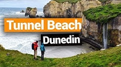 Tunnel Beach in Dunedin  –  New Zealand's Biggest Gap Year – Backpacker Guide New Zealand