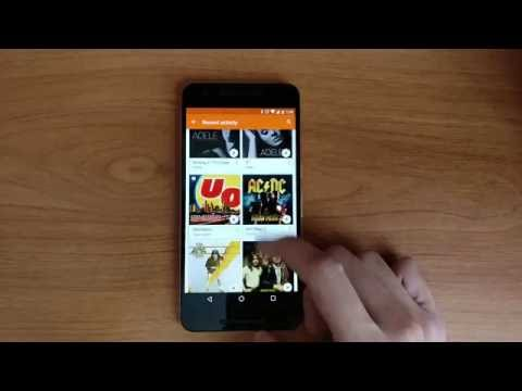 Google Nexus 6P Play Music Performance Test