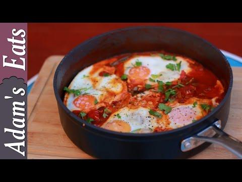 Huevos rancheros (Mexican eggs)