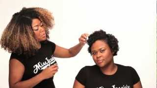 Miss Jessie's Co/founder Titi Branch advise for Curly Hair