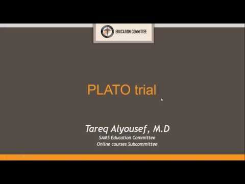 SAMS Online Journal Club   1st Session: Therapy Paper - Tareq Alyousef, MD