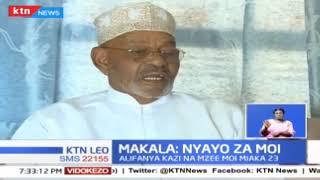 Maandalizi ya sherehe za Moi Dei nyakati zake rais mstaafu Daniel Moi