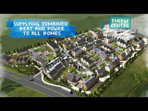 North West Bicester Eco Town promotional video