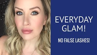 OVER 40 Simple and Soft Everyday Glam Makeup Tutorial