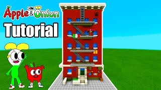 """Minecraft Tutorial: How To Make Apple And Onions House """"Apple and Onion"""""""