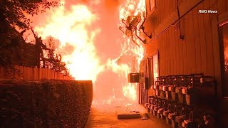Heroes Save Families From Raging Apartment Fire