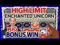 HIGH LIMIT 🎰 Enchanted Unicorn BONUS ✦💰$10-$30/SPIN ✦ Brian Christopher Slots