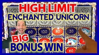 HIGH LIMIT 🎰 Enchanted Unicorn BONUS ✦💰$10-$30/SPIN ✦ Brian Christopher Slots
