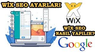 Wix Seo Ayarları I Wix Seo Yapma I Wix SEO Nasıl yapılır?