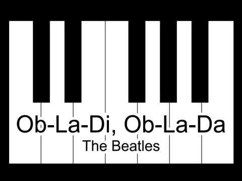 Ob La Di Ob La Da The Beatles Piano Tutorial Youtube