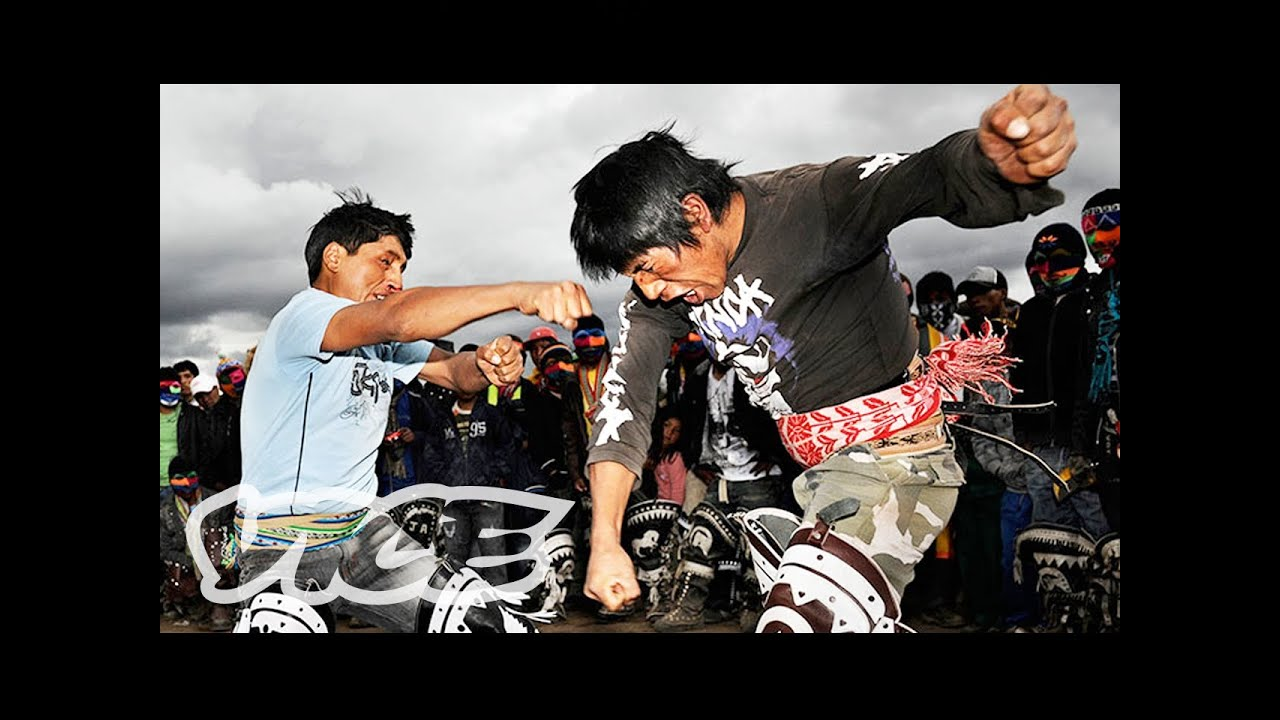 Every Christmas, Peruvians Living in the Andes Settle Their Scores at Fist-Fighting Festivals