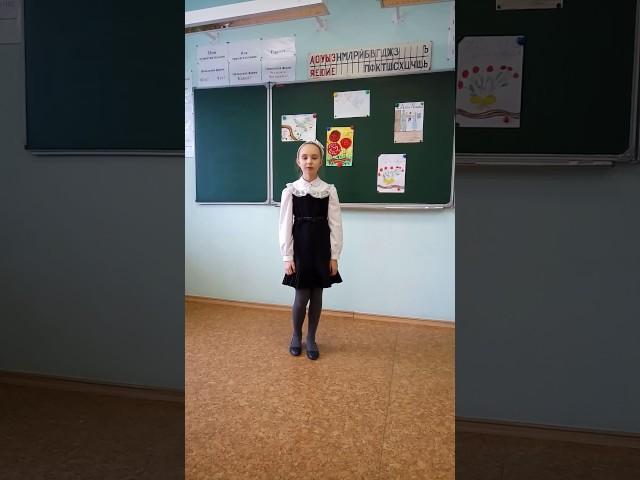 Изображение предпросмотра прочтения – АринаКозлова читает произведение «Пусть дети не знают войны» (Разные писатели )