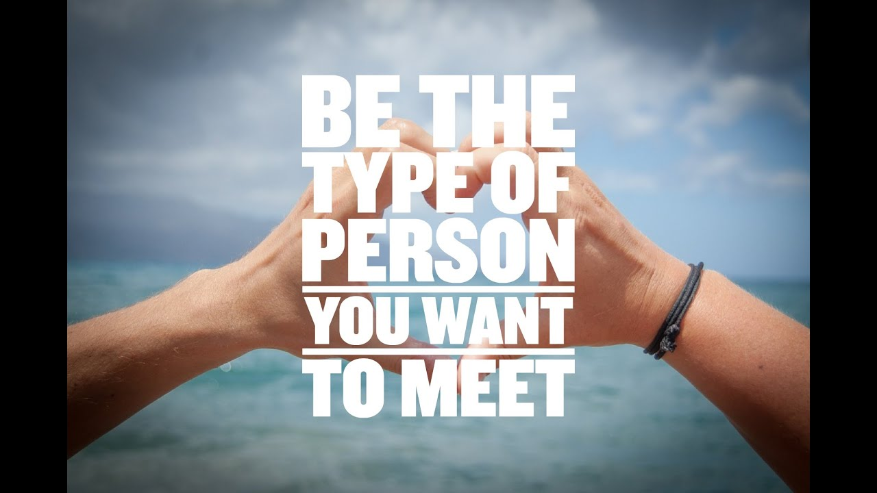 Want to meet you in person
