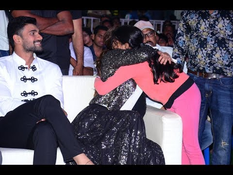 Kajal Aggarwal Gives Hug To Her Fan @ Kavacham Audio Launch | NTV Entertainment