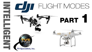 DJI Intelligent Flight Modes: FULL Instruction