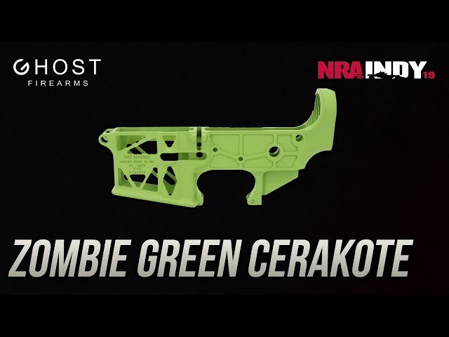 Zombie Green Cerakote - Ghost Firearms