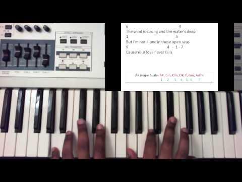 Your Love Never Fails - Jesus Culture (Piano Tutorial)