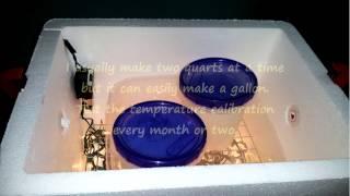 Best DIY Adjustable Electric Yogurt Maker (Easy)