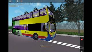 Hybird citybus at HK Public Trans™ : Island South on roblox (1)