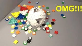 Ripping apart a V-Sphere puzzle