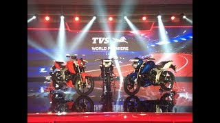 The Unveil of TVS Apache RTR 160 4V