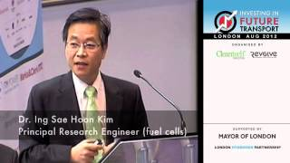 Hydrogen fuel cell vehicle development - a future engineering presentation by Hyundai