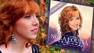 Nora Louisa  Nur einmal  Karaoke Version