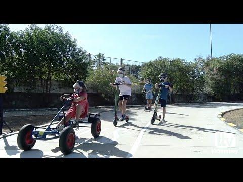 VÍDEO: El Parque Infantil de Tráfico de Lucena reabre sus puertas tras un año sin actividad