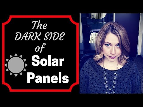 The Dark Side of Solar - Solar Panel Tips