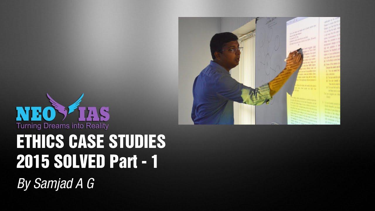 ethics case study 4 essay