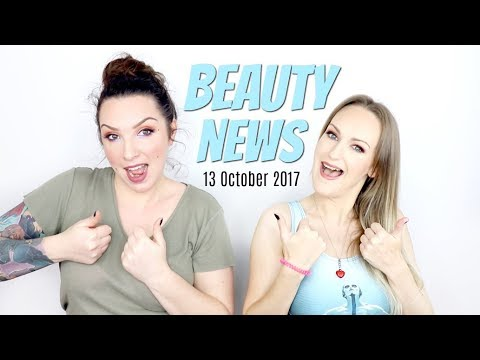 BEAUTY NEWS - 13 October 2017 | New Releases