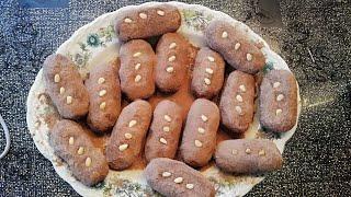 Пирожное Сладкая картошка за минуту Вкус детства
