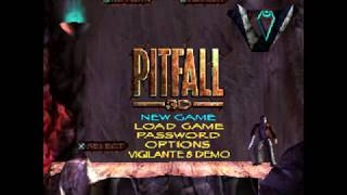 Pitfall 3D: Beyond the Jungle - PS1 - Title Screen Movie