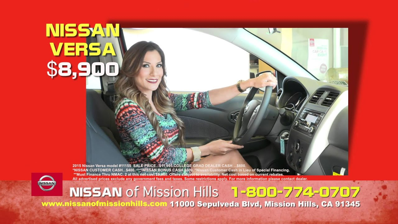 Nissan Of Mission Hills ENGL For Review Only