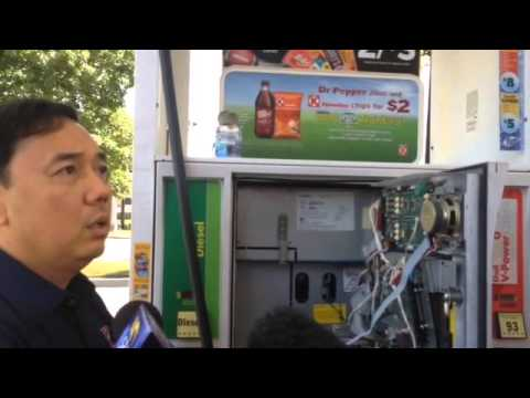 Credit Card fraud at Shell gas station on Union Avenue