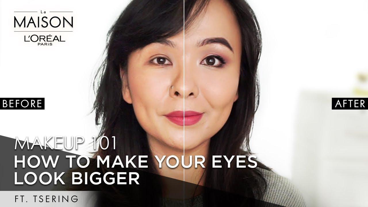 How To Make Small Eyes Look Big | Small & Hooded Eye Makeup | Tsering & Simmy Goraya | L'Oréal Paris
