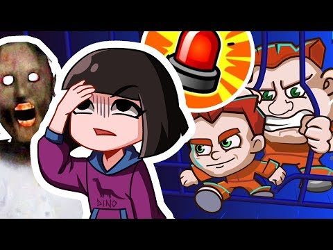 Побег из тюрьмы вместе с Машкой и Гренни в игре Ловкие Воры