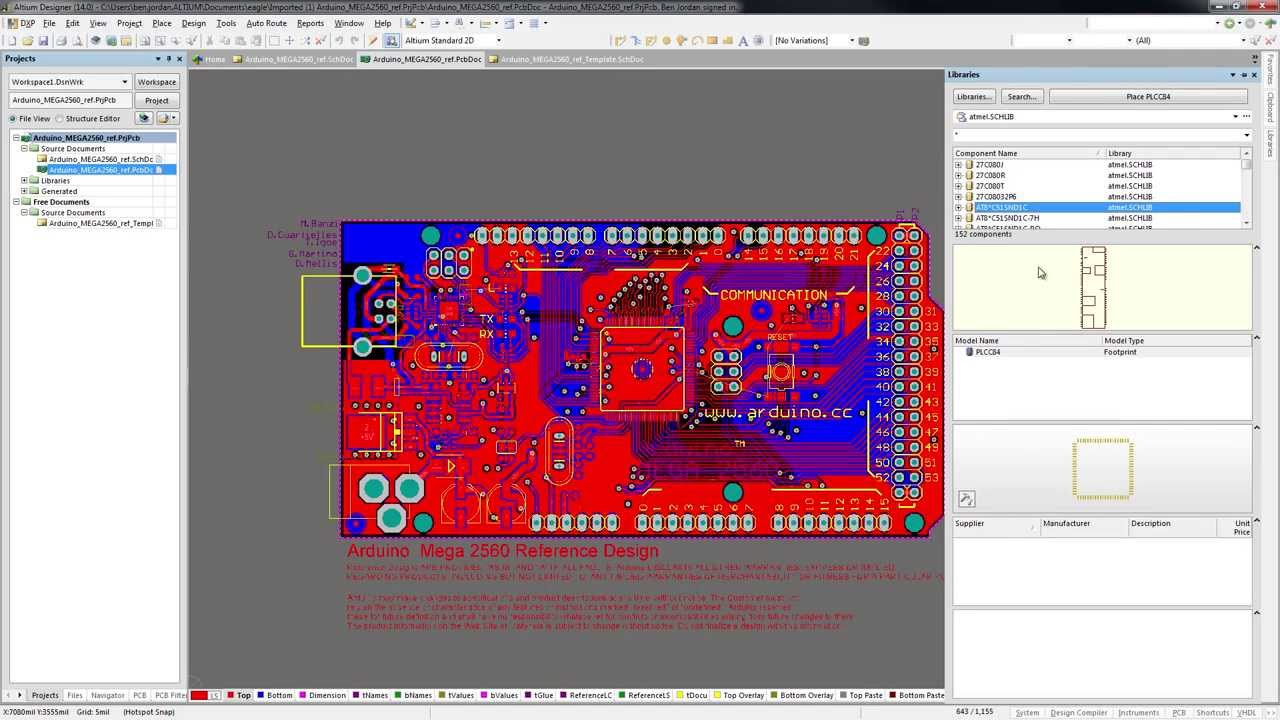 Altium Designer 14 - CADSoft Eagle Importer - YouTube