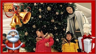 merry christmas ❤︎ 원더키즈tv와 즐거운 크리스마스 트리 만들기. 산타할아버지 선물은?