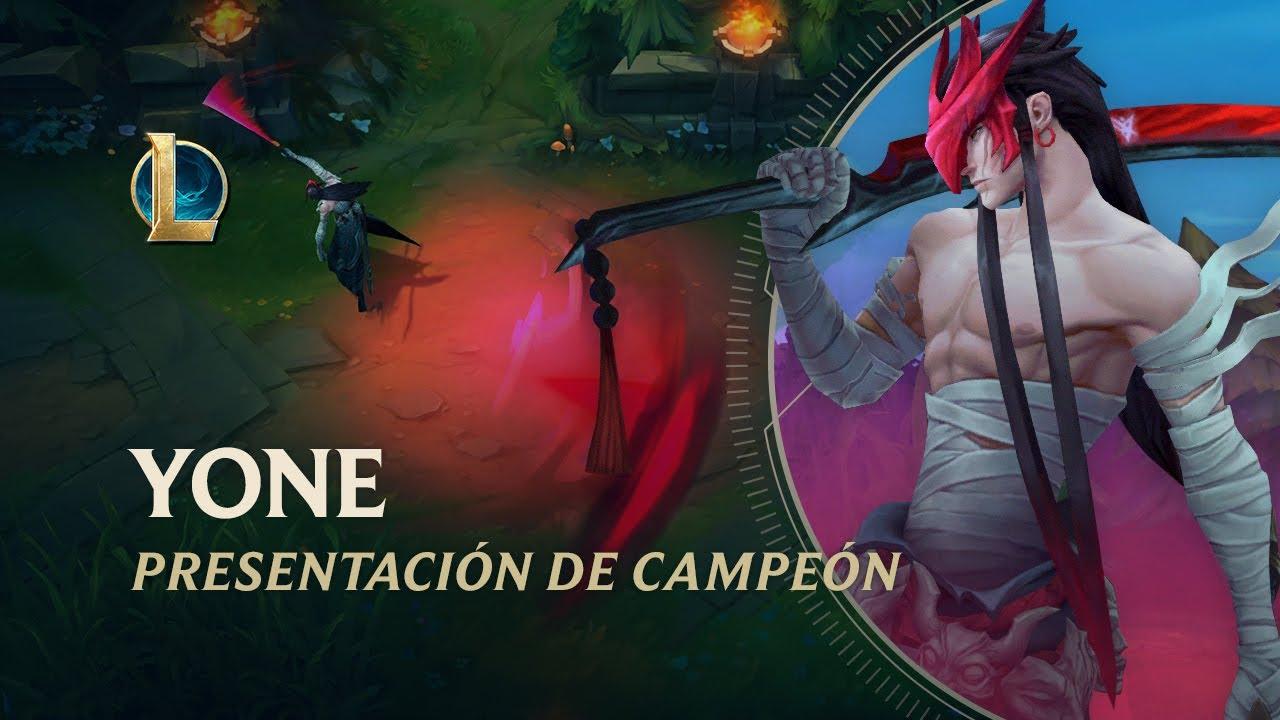 Presentación de Yone - Jugabilidad | League of Legends