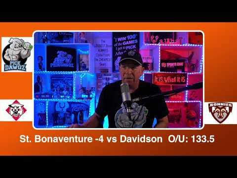 St. Bonaventure vs Davidson 2/21/21 Free College Basketball Pick and Prediction CBB Betting Tips