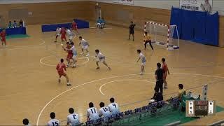 20180728 男子ハンドボール 2回戦 不来方岩手県対 松山工愛媛県スポーツの杜鈴鹿